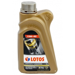 LOTOS SYNTHETIC TURBODIESEL 5W40 1L VW 505.01